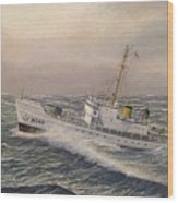 U.. Coast Guard Cutter General Greene 2 Wood Print