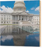 U S Capitol East Front Wood Print