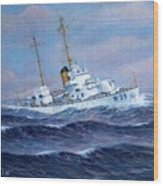 U. S. Coast Guard Cutter Owasco Wood Print