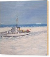 U. S. Coast Guard Icebreaker Northwind Wood Print