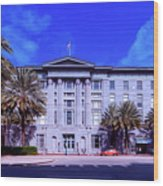 U S Custom House - New Orleans Wood Print
