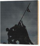 U S M C Memorial Wood Print
