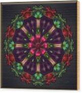 u028 Wholehearted Hibiscus Wood Print