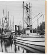 Ucluelet Harbour - Vancouver Island Bc Wood Print