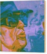 Udo Lindenberg Die Coole Socke 4 Pop Art Pur Wood Print
