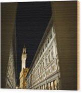 Uffizi Wood Print