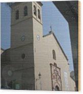 Ugijar Church 7 Wood Print