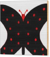 ugly Bug butterfly Wood Print