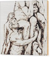 Ugolino And His Sons Wood Print