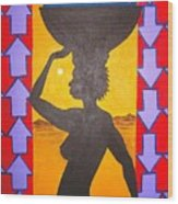Uhuru Wood Print
