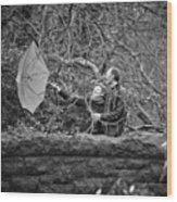 Ula And Wojtek Engagement 16 Wood Print
