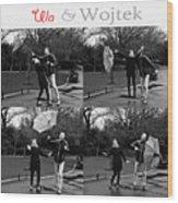 Ula And Wojtek Engagement 3 Wood Print