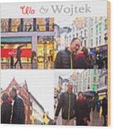 Ula And Wojtek Engagement 5 Wood Print