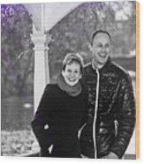 Ula And Wojtek Engagement 6 Wood Print
