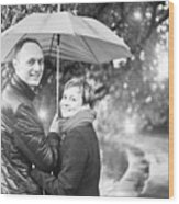 Ula And Wojtek Engagement 7 Wood Print
