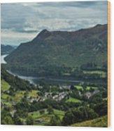 Ullswater Wood Print