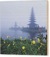 Ulu Danu Temple Wood Print