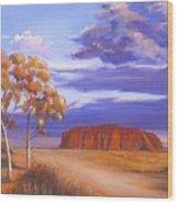 Uluru  - Ayers Rock Wood Print