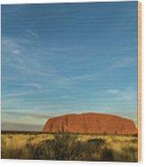 Uluru Sunset 01 Wood Print