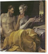 Ulysses And Penelope Wood Print