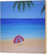 Umbrella For Rosy Wood Print