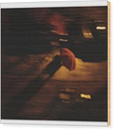 Umbrella 85 Wood Print