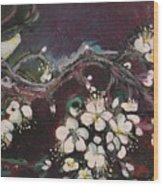 Ume Blossoms Wood Print