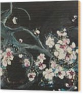 Ume Blossoms2 Wood Print