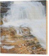 Umpachene Falls Wood Print