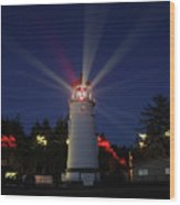 Umpqua Lighthouse Wood Print