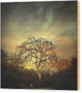 Un Dernier Crepuscule Wood Print