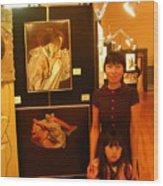 Unclad 2007 Exhibit Wood Print