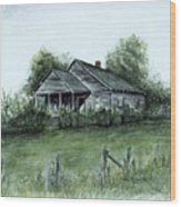 Uncle Luther's Home Wood Print