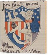 Uncle Sam's Church Wood Print