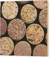 Uncorked Wood Print