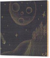 Under Alien Atars Wood Print