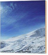 Under An Iridescent Sky Wood Print