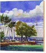 Under Maui Skies Wood Print