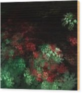 Under The Forest Canopy Wood Print