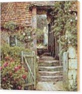 Under The Old Malthouse Hambledon Surrey Wood Print