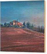 Under Tuscan Sun Wood Print