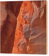 Underground Desert Lights Wood Print