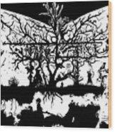 Underground Influences Wood Print