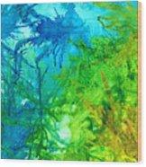 Undersea Corals Wood Print