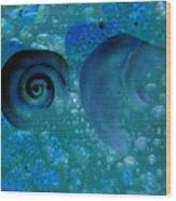 Underwater Eye Wood Print