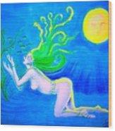 Underwater Fantasy Wood Print