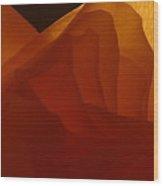 Une Dame Wood Print