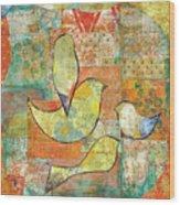 Unfinished Bird Wood Print