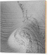 Unfolding And Enfolding -- Vi Wood Print
