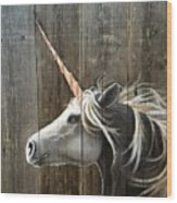 Unicorn  Wood Print